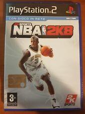 NBA 2K8 - PLAYSTATION 2 PS2 USATO