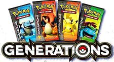 1x Pokemon XY Generations Expansion Factory Sealed Booster Pack (Single Pack)