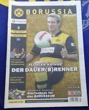 2007/08, Borussia Dortmund-Werder Bremen und HSV,  Borussia aktuell