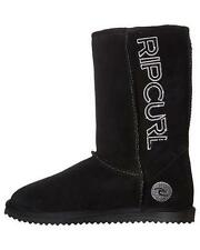 Mens Size 12 Rip Curl SHIPSTERNS UGGIES BOOT Winter Shoes Slippers - Black