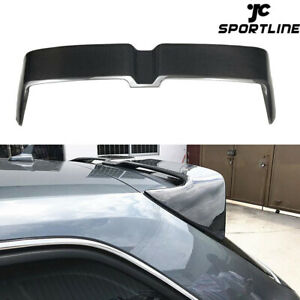 For AUDI A3 8V S-line S3 Hatchback 2014-2020 Rear Roof Top Spoiler Carbon Fiber