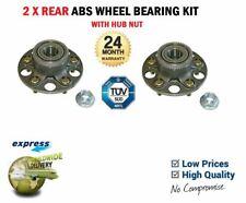 2x Rear WHEEL BEARINGS SET for HONDA INTEGRA Coupe DC5 2.0 2004->
