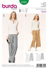 Burda Trousers Sewing Patterns