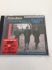 The Jam CD compact Snap! digitally Remastered Mint