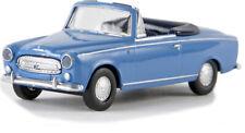 Brekina 29155 HO Peugeot 403 cabriolet bleue (SAI 2535) 1/87 Neuf