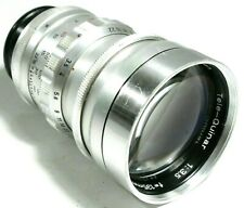 Steinheil Munchen TELE-QUINAR 3.5 135mm Lens Paxette UK Fast Post