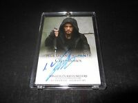 Mortal Instruments Autograph Trading Card Jonathan Rhys Meyers (Holder)
