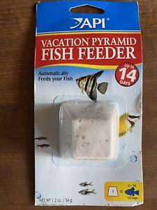 Vacation Pyramid Fish Feeder By API