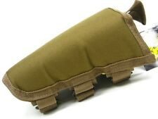 VOODOO TACTICAL Coyote Adjustable CHEEK REST PAD For Rifle Stock! 20-942207000