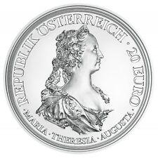 "2017 Austria 20 Euro Silver Proof Coin ""Maria Theresa: Courage & Determination"""