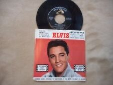 "ELVIS PRESLEY ""ONE BROKEN HEART FOR SALE""  7"" PICTURE SLEEVE 47-8134 1963"