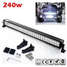 "20/"" LED 540W Arbeitsscheinwerfer Lichtleist Light Bar Pickup Rallye Traktor KFZ"