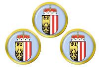 Supérieur Autriche Oberosterreich Marqueurs de Balles de Golf