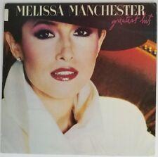 MELISSA MANCHESTER GREATEST HITS ARISTA  VINYL LP AL 9611