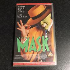 THE MASK - VHS VCR Video Tape - Jim Carrey & Cameron Diaz Vintage Retro