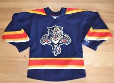 CCM Florida Panthers Hockey Jersey YOUTH S/M  NHL Boys Stitched Blue