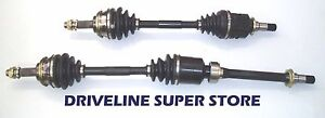 A set of two NEW CV JOINT DRIVE SHAFTS FORD FOCUS  LR 1.8L & 2.0L AUTO 2002-04