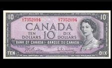 1954 BANK OF CANADA QEII $10 **Beattie & Rasminsky** UNC  @BC-40bA