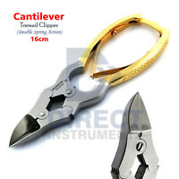 Professional Cantilever Heavy Duty Nail Clipper For Thick Hard Foot Toenail Gold