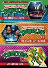 Teenage Mutant Ninja Turtles The Movie Collection 5030697025227 DVD Region 2
