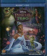 The Princess and the Frog Blu ray DVD 2011 2 Disc Combo Disney