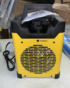 STANLEY ST-400LED-120 LED USB Electric Heater Yellow/Black open box