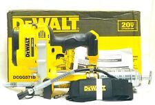 DEWALT 20V MAX Cordless Li-Ion Grease Gun DCGG571B New - Tool Only