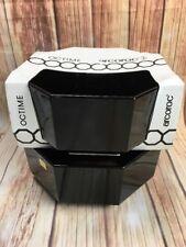 1X VTG Retro 80`Arcoroc Octime Luminarc France Black Stylish Salad Bowl 24 cm