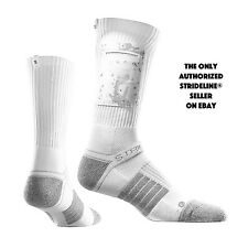 Strideline® Pocket Socks Single Pocket Arctic Camo White with White Camo Pocket