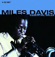 Miles Davis - Essential Miles (2012)  4CD Box Set  NEW/SEALED  SPEEDYPOST
