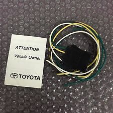 Toyota Trailer towing wire