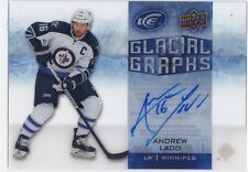 ANDREW LADD 2015-16 15-16 UPPER DECK ICE GLACIAL GRAPHS AUTOGRAPH !