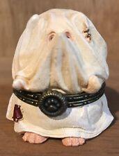 Boosley Hallowhedge-Boyds Bears ~ Halloween Treasure Box Ghost Clad - NO MINI