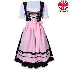 Women/'s Oktoberfest Dress German Bavarian Ethnic Trachten Beer Dirndl Costumes
