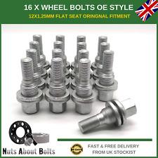 Peugeot 207 2007-on HEYNER wheel locking nuts  M12x1,25 bolts for alloys