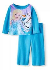 Disney Frozen Elsa Olaf 2-PC Sleepwear Flannel Pajamas Set Size 2T NWT