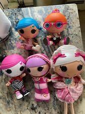 Lalaoopsy Dolls Lot Of 6 button eyes set