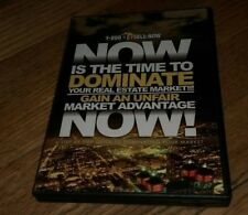 Now Is The Time To Dominate Your Real Estate Market Gain Unfair Advantage DVD