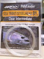 AIRFLO Polyleader Sea Trout Steelhead 8ft 2,40Mtr. CLEAR INTERMEDIATE