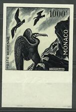 MONACO OISEAUX CORMORANS BIRDS CORMORANTS VÖGEL ESSAI COLOR PROOF ESSAY ** 1955