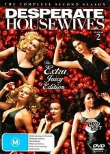 DESPERATE HOUSEWIVES - THE COMPLETE SECOND SEASON (7 DVD SET) BRAND NEW! SEALED!