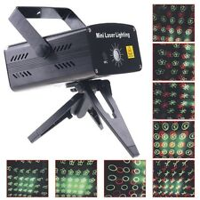proiettore  laser 2 colori rosso verde effetti strobo