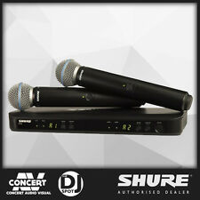 SHURE BLX288B58 Dual Wireless Microphone System with BETA58A HANDHELD