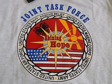 JOINT TASK FORCE UNITED STATES NAVY/MARINE CORPS/ARMY/AIR FORCE/NAVY TSHIRT L