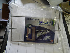 "RV Trailer Home Dometic Dri-Rac 13"" Shower Bar, Hangs On Shower Door Or Bar. New"