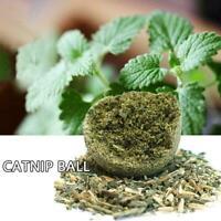 Katzensnack Katzenminze Ball Lick Solid Nutrition Ball Hilfe Verdauung B4J0