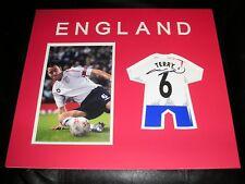 JOHN TERRY Signed England Shirt Mount