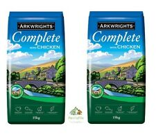 15KG / 30KG ARKWRIGHTS COMPLETE DRY DOG FOOD BISCUITS CHOOSE CHICKEN OR BEEF