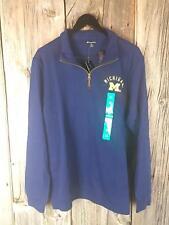 Champion elite University of Michigan Long Sleeve Mens Shirt XL (41A1-A3) NWT