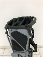NEW TaylorMade '17 Custom Stand Bag - Black/Grey - Double Custom Panel